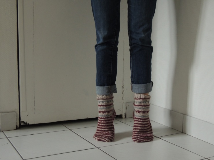 chaussettes devant