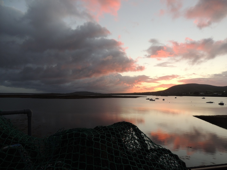 filet-peche-sunrise-lever-soleil-ballyvaughan-ireland