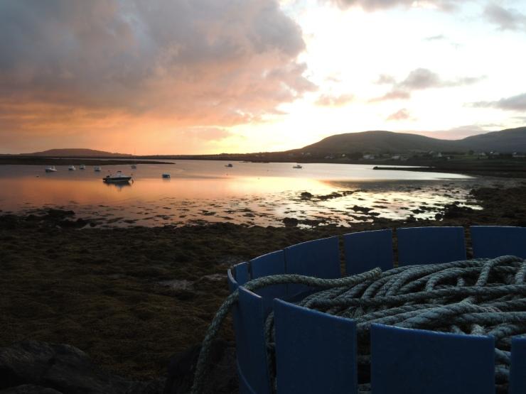 lever-soleil-corde-peche-irlande-sunrise-ireland