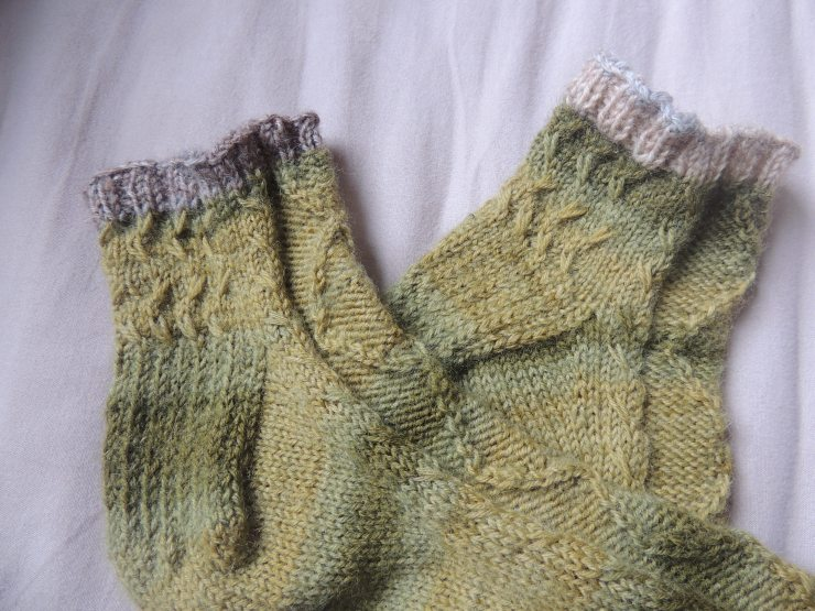 chaussettes hermès letipanda irish socks irlandaise torsades mouton mailles glissées (1)