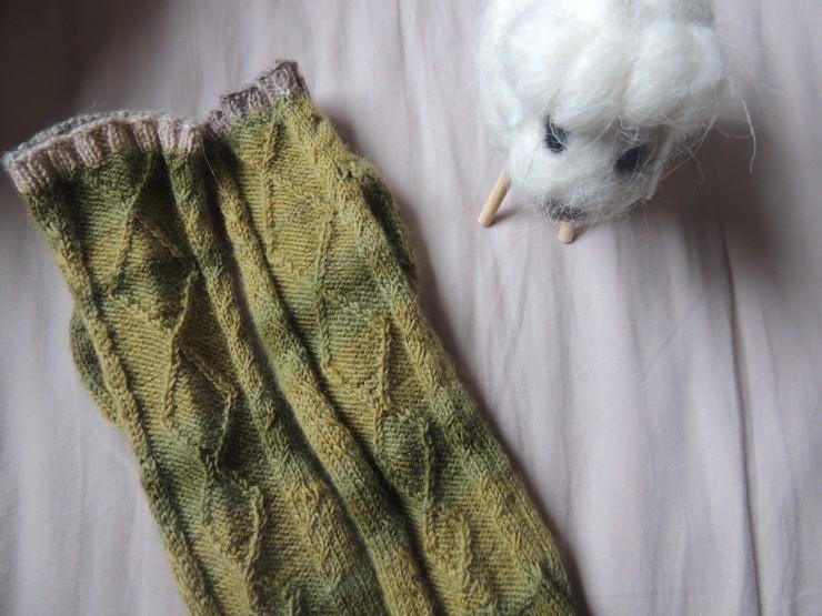 chaussettes hermès letipanda irish socks irlandaise torsades mouton mailles glissées (4)