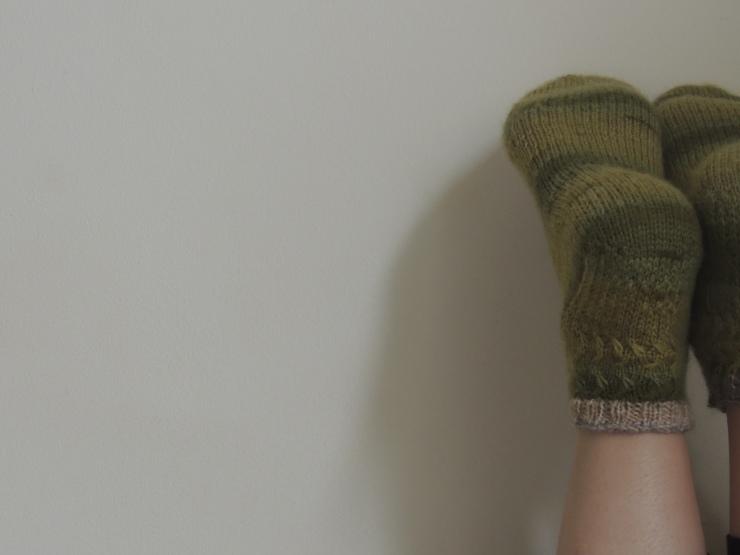 Irish socks burren socks ddétails chaussettes hermès (2)