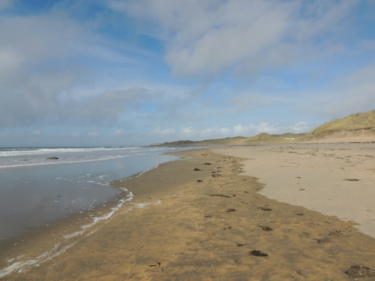 plage irlande fanore county clareirish beach