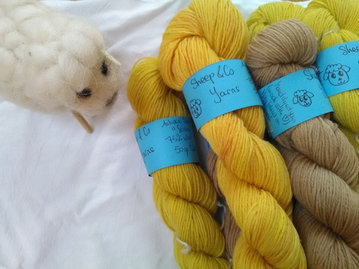 laines teintes main rue des jardin avocat betterave sheep and co yarns teinture végétale