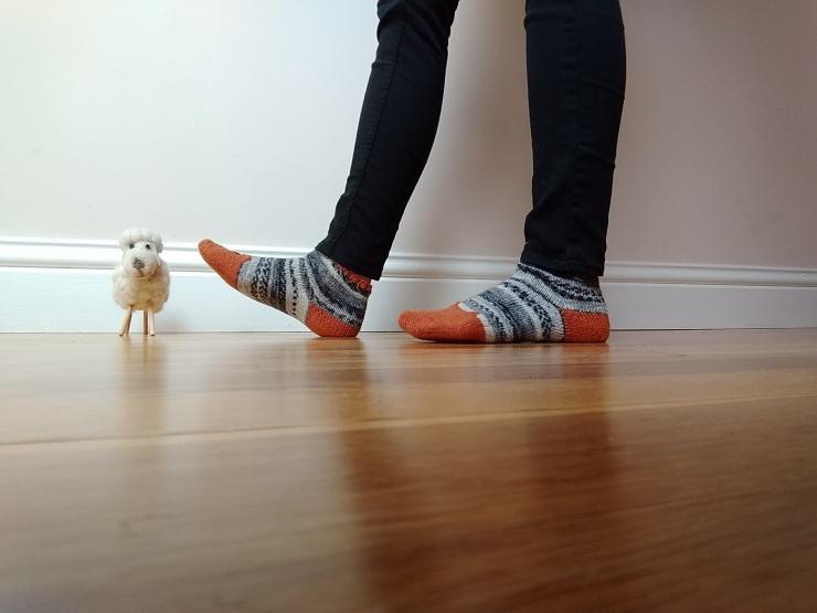 chaussettes courtes de la renarde tête de renard drops fabel talon rangs raccourcis (1)