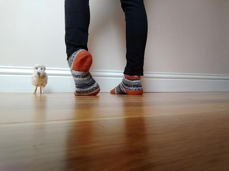 chaussettes courtes de la renarde tête de renard drops fabel talon rangs raccourcis (2)