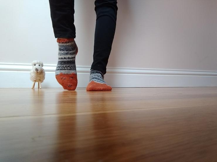 chaussettes courtes de la renarde tête de renard drops fabel talon rangs raccourcis (3)