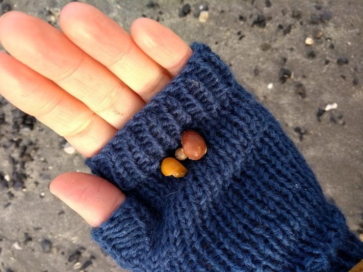 mitaine petites mains point de riz facile tuto patron jersey sostren grene laine (4)