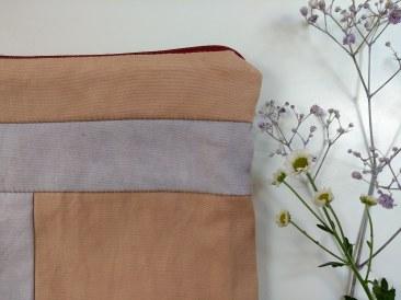 pochette cousu main hand sewn clutches bag logwood rumex bois de campêche teinture végétale naturelle plantes natural plants dyeing toiletery bag plants lover (5)