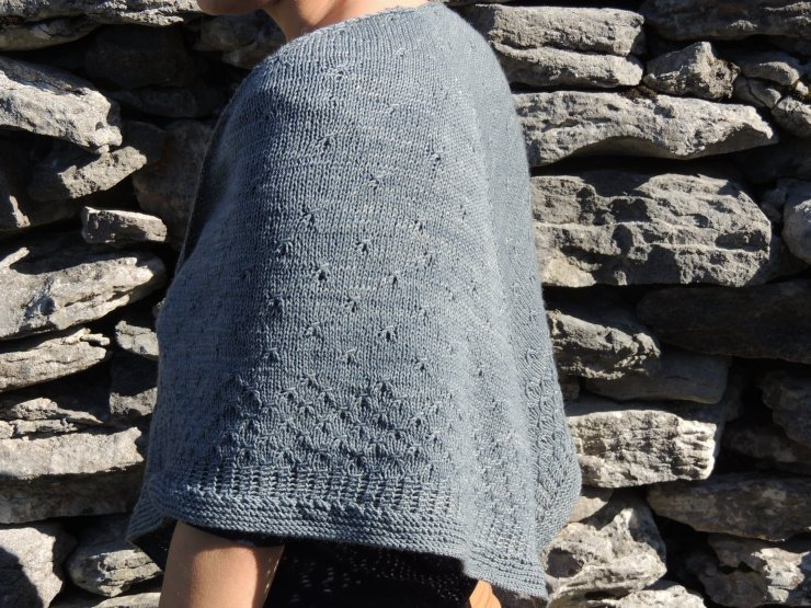 châle syrma patron français anglais lilofil sionnach yarn fingering teinture végétale laine teinte main irlande (4)