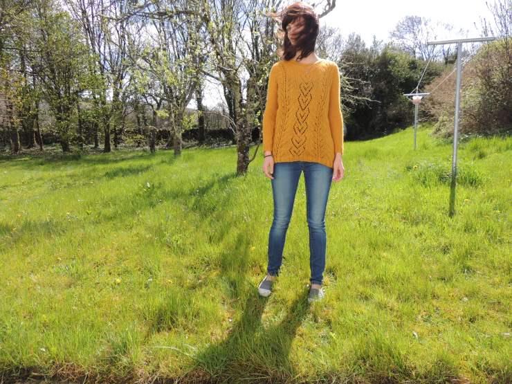 the pearl drops design patron tricot gratuit français tricot irlandais point ajouré laine orange inconnue swap détails (4)